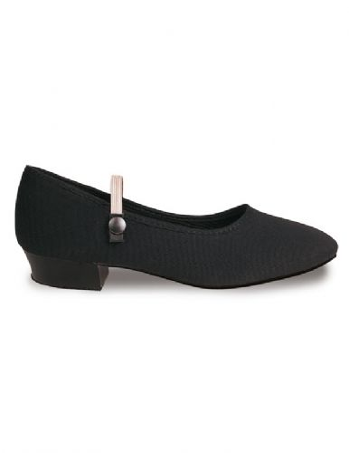 Roch Valley Canvas Character shoe low heel.